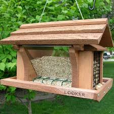 How To Keep Birds Off Your Patio by Attracting Birds To Your Feeder Yard Envy