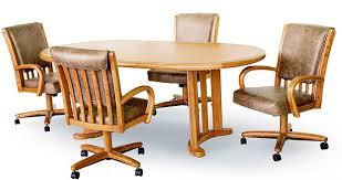 chromcraft furniture c177 936 and t717 77 swivel tilt caster