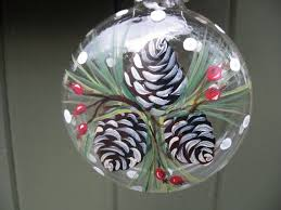25 unique painted ornaments ideas on