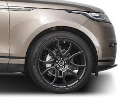 range rover velar black ac2 anthracite black 22 alloy wheel set for range rover velar from