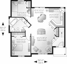 cottage style house plan 2 beds 1 00 baths 940 sq ft plan 23 706