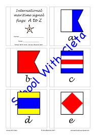 Nautical Code Flags Subjects English International Maritime Signal Flags