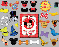 Mickey Mouse Photo Booth Mickey Photo Prop Etsy