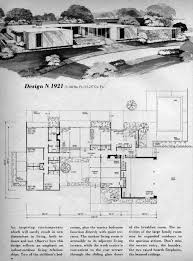 mid century house plan mid century house plans pinterest mid
