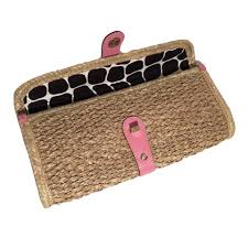 kate spade rare new wicker bag straw rattan from camel cruz camera