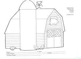 barn coloring pages getcoloringpages