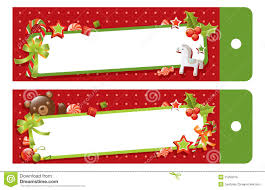 christmas gift tag clipart green collection