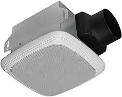 bath fan and speaker in one homewerks worldwide 7130 04 bt bluetooth bath fan and speaker in one