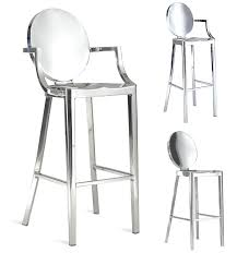 bar stool buy ghost chair counter stool collection in stainless steel bar stool