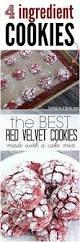 red velvet box cake cookies recipe red velvet cookie recipe red