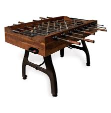 3 in one foosball table bradley industrial reclaimed wood iron foosball table kathy kuo home