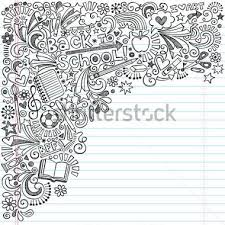 doodle with inky back to school notebook doodles with apple soccer