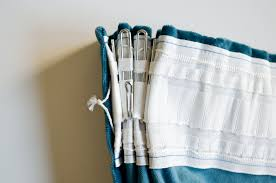 Drapery Clips Without Rings How To Triple Pinch Pleat Curtains With Ikea Hardware Visual
