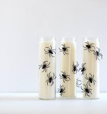 spooky spider halloween candles eighteen25