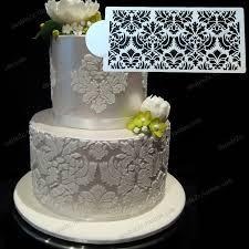 buy wedding cake wedding cake stencil 12 6 x6 1 32x15 4cm plastic stencil fondant