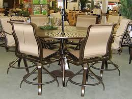 Bar Height Patio Chairs by Unique Bar Height Patio Furniture Set Bar Height Patio Dining Sets