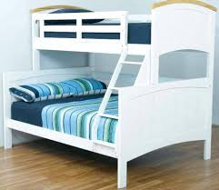 BONDI RANCH SINGLE DOUBLE TIMBER WHITE TRIO BUNK BED Ab Fab - Single double bunk beds
