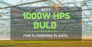 best hps grow lights best 1000w hps bulb for flowering plants grow lights 2018 reviews