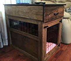dog kennel side table large dog crate furniture large dog crate furniture s large dog