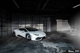 lamborghini huracan custom menacing white lamborghini huracan with adv 1 wheels gtspirit