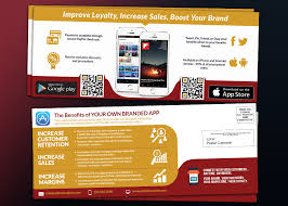 android app marketing direct mail eddm template for ios or android app marketing