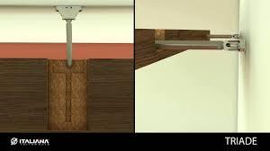 home design hidden floating shelf brackets asian large hidden