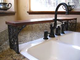 Wrought Iron Bathroom Faucet Ornate Over The Sink Shelf By Oldworldodditiesetsy On Etsy