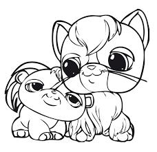cute dog littlest pet shop coloring pages littlest pet shop