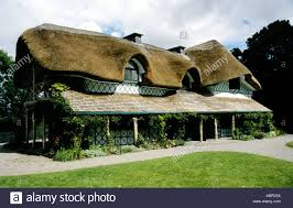 Thatched Cottage Ireland by Restored Thatched Cottage Orne At Cahir Castle Co Tipperary