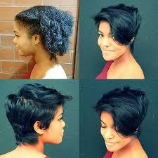 shortcut for black hair 444 best short sassy hair images on pinterest low hair buns