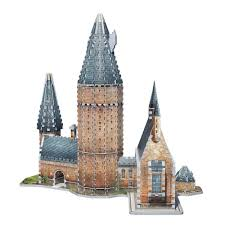Hogwarts Dining Hall by Amazon Com Wrebbit 3d Hogwarts Great Hall 3d Puzzle 850 Piece