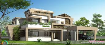 modern home design 4000 square feet 2750 square feet 4 bedroom box model house square feet futuristic