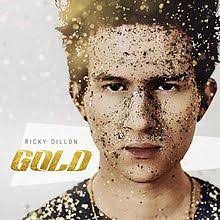 gold photo album gold ricky dillon album
