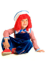 Rag Doll Halloween Costumes Child Raggedy Andy Costume