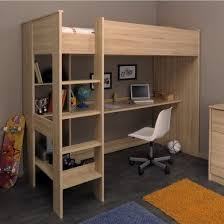 High Sleeper With Desk And Futon Cabin Bed With Desk And Futon