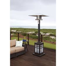 Patio Heater Wont Light by Paramount Illuminated Mission Base Patio Heater 46 000 Btu