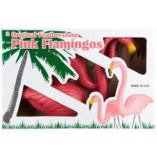 don featherstone pink flamingo union products lawn ornament pair