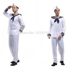 Mens Sailor Halloween Costume Sailor Halloween Costume Men Promotion Shop Promotional Sailor