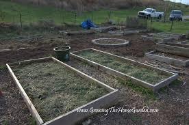 preparing the vegetable garden in spring growing the home garden