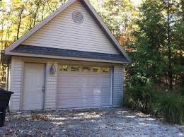 22x22 2 Car 2 Door Detached Garage Plans by Benefits To 1 5 Garage Door Sizes