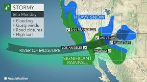 Weather Radar Map United States by California To Face More Flooding Rain Burying Mountain Snow Into