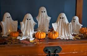 How To Make Little Ghost Decorations Brightnest 21 Halloween Decor Diys Ghouls Goblins Ghosts And More