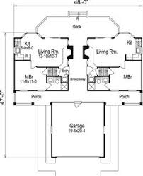 Dogtrot House Floor Plans Dogtrot From The Southern Living Hwbdo55953 Country House Plan