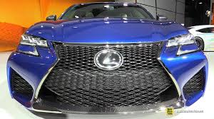 old lexus interior 2016 lexus gs f exterior and interior walkaround 2015 detroit