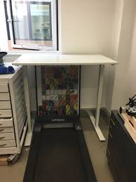 Sit Stand Desk Ikea by Ikea Bekant Sit Stand Desk In London Gumtree
