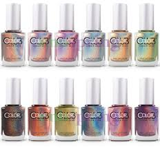 color club halo hues holographic nail polish lacquer set of 12 ebay
