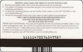 gift card hobby lobby hobby lobby united states of america