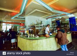 1950s Decor Paris France Vintage French Bistro Restaurant Cafe