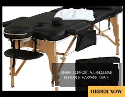 sierra comfort all inclusive portable massage table massage table reviews top 5 best products