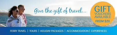 travel gift cards sealink travel gift vouchers sealink kangaroo island